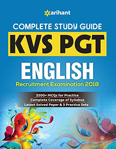 KVS PGT English Guide 2018