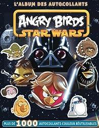 L'album des autocollants : Angry birds Star Wars