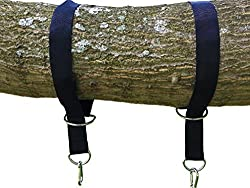 Tree Swing Hanging Kit Holds 1000lbs Easy Fast Swing Hanger Installation to Tree- 2 Strap Snap Carabiner Hook Perfect For Swings Hammocks Anything Else You Can Imagine-1000lbs 100 Waterproof