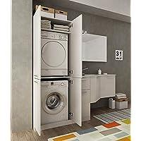 suchergebnis auf f r waschmaschinenschrank k che haushalt wohnen. Black Bedroom Furniture Sets. Home Design Ideas