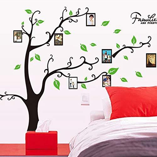 Zyzdsd forever love family photo frame albero adesivi murali decorazioni per la casa soggiorno camera da letto murale arte decalcomanie da muro in pvc poster fai da te