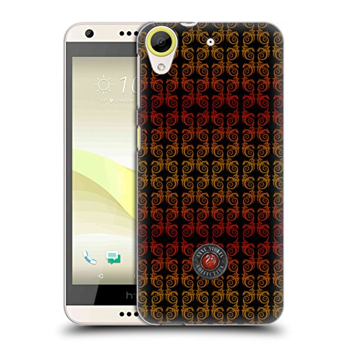Official Anne Stokes Dragon Column Fire Tribal Hard Back Case for HTC Desire 650