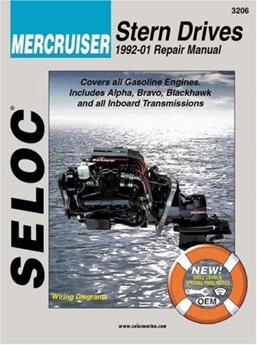 Mercruiser Stern Drives 1992-2000 (Seloc Marine Manuals) (Stern-handbuch)