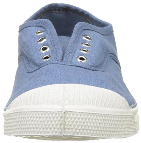 Bensimon Tennis Elly Femme, Damen Hohe Sneakers Blau (Denim)