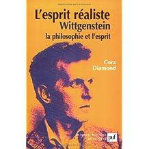 L'esprit réaliste : Wittgenstein, la philosophie et l'esprit