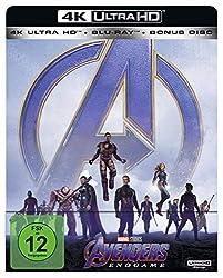 Avengers: Endgame Steelbook [4K Blu-ray]