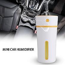 Xcellent Global Humidificador Portátil Mini USB Air LED Humidificador de Niebla Fría 2 Modos Apagado Automático y Emisión Silenciosa para el Hogar Dormitorio Oficina Trabajo Hotel Coche, 300 ml HG223