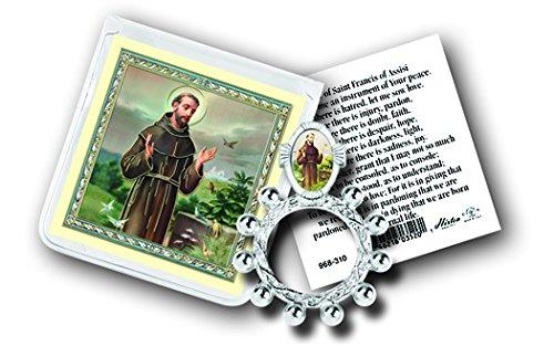 stealstreet Saint Francis Finger Rosenkranz