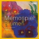 Emil Nolde. Blumen/Flowers (dt./ENGL.): Memospiel/Pairs