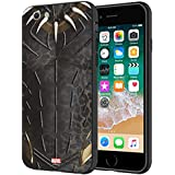 CellKraft Marvel Black Panther Printed Mobile Cover for iPhone 8/7 (Hard Back & Flexible Bumper), Multi-Colour
