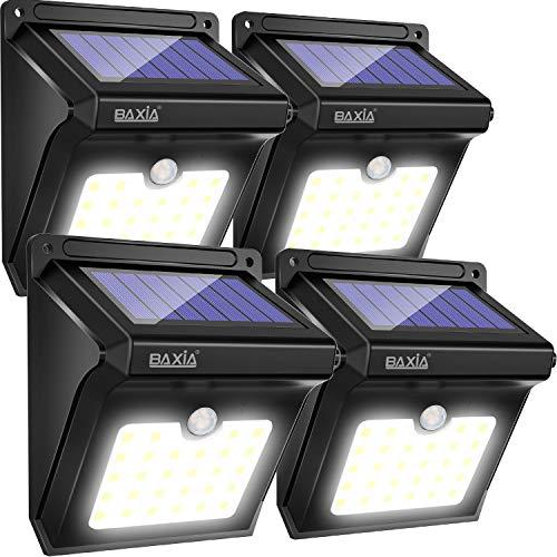 Características EléctricasPanel solar: 0.55W.Batería de Li-Ion: 3.7V 1200m/AhEnergía LED: 0.2W, 6000K-6500K, 28 Piezas, 24-26Im/PiezaÁngulo de movimiento y distancia: 120 grados, 30 cm.Peso: 0,19 kilos Tamaño: 12.95 x 10,92 x 6,86 cmModo de funcionam...