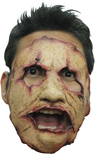 Massenmörder-Halbmaske Halloween (Texas Chainsaw Masken)