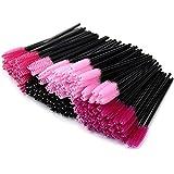 MMBOX Make-up-Pinsel, 200-pack Einweg Damen Mini Mascara Applikator Wimper der Frauen