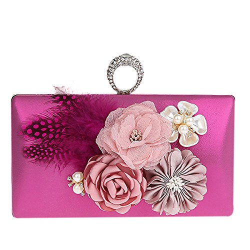 TOOKY, Borsa a zainetto donna Rose Red