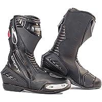 Richa, Stivali da motociclista uomo, Nero (nero), (Abito Da Moto Stivali)