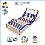 Ravensberger Matratzen® MEDI XXL® Lattenrost | 5-Zonen-Buche-Schwergewichts-Lattenrahmen | 30...
