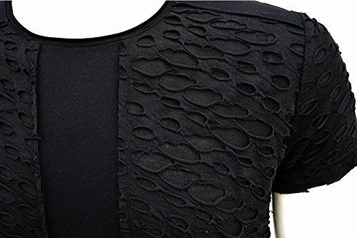 Brandneu !!! Designer T-Shirt von CARISMA in 2 Farben CRM4423 Schwarz