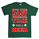 Epsion Most Wonderful Time of The Year Beer Christmas Xmas T shirt