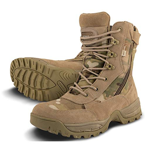 9c0c79c1fb2b15 Mens Combat Military Army Camo Patrol Hiking Cadet Work Multicam Recon  Special Forces Boot 4-