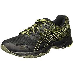 Asics Gel-Sonoma 3, Zapatillas de Running para Asfalto para Hombre, Negro (Black/Sulphur Spring/Black 9089), 42.5 EU
