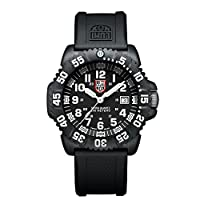 Luminox Navy SEAL Colormark LU3051 Reloj de pulsera Cuarzo Hombre correa de Caucho Negro