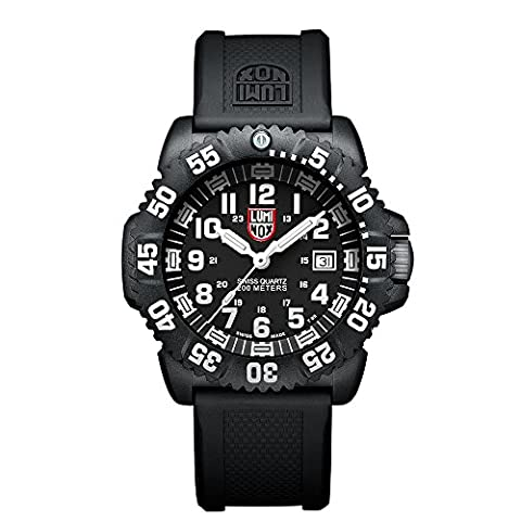 Luminox Navy SEAL Colormark  Men's Quartz watch with Black dial