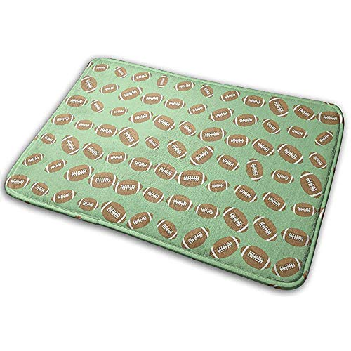 Doormat,Rugby Soccer Court Sport Felpudos Lavables