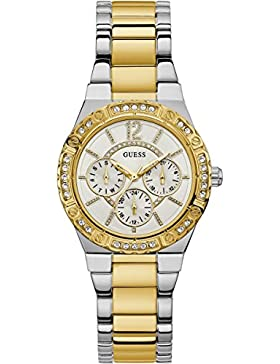 Guess Multi-function White Dial Women's Watches - W0845L5