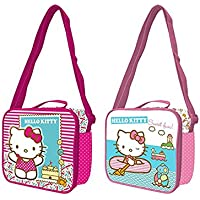 Hello Kitty Bolsa portameriendas Grande con asa,, 0