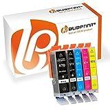 Bubprint 5 Druckerpatronen kompatibel für Canon PGI-570XL CLI-571XL für Pixma MG5750 MG5751 MG7750 TS5050 TS5051 TS6050 TS6051 TS8050 TS8051 TS9050