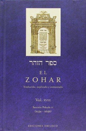 El Zohar (Vol. 18): XVIII (Judaismo) por Anonimo