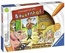 Rätselspaß auf dem Bauernhof tiptoi Spiele/Puzzles: Löse lustige Logik-Rätsel und fange die Tiere ein!