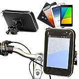 Navitech Wasserfeste Fahrrad Halterung für The Sony Xperia Z3 Tablet Compact