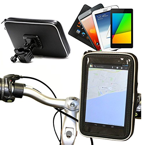 Navitech Wasserfeste Fahrrad Halterung für Nook Tablet/Nook Colour/Nook HD/Kobo Vox/Kobo Arc/Hisense Sero 7 Pro (Nook Hd 7 Tablet)