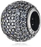 Pandora Damen-Charm 925 Sterling Silber Zirkonia weiß 791051CZ