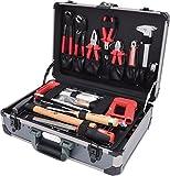 """KS Tools 911.0649 1/4"""" + 1/2"""" Universal-Werkzeug-Satz, 149-teilig, Werkzeugkoffer / Werkzeugset / Werkzeugkasten / Werkzeugkiste, inkl. Werkzeug wie Seitenschneider, Hammer, Zangen, Schraubendreher, Ringmaulschlüssel uvm."""