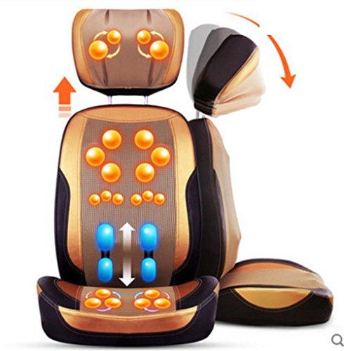 Preisvergleich Produktbild AMYMGLL Multifunktionale Massagekissen Heimmassagesessel 3D-Manipulator Massage Körpermassage durch Massage kneten Klemmwinkel abnehmbar freie Einstellung Falten