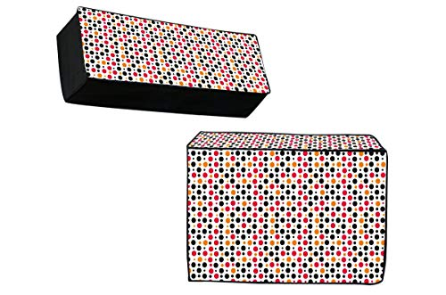 Stop N Shopp PVC Indoor and Outdoor AC Cover Set, Size- 1.5 Ton, 2 Piece - Multicolour