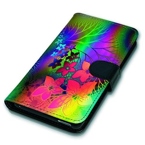 Wallet Book Style Flip Handy Tasche Case Schutz Hülle Schale Motiv Etui für Apple iPhone 6 / 6S - Variante UMV10 Design12 Design 9