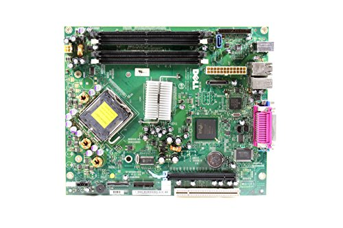 Original Dell Intel 945 Express Sockel 775 Motherboard für die Optiplex GX620 Small Form Factor (SFF) System Teilenummern: F8101, PY423, KH290 -