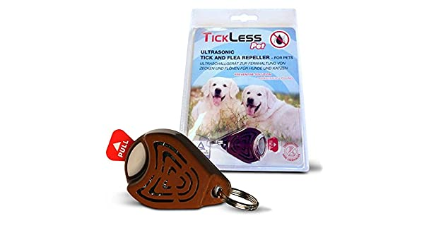 TICKLESS PET Ultrasonic Tick And Flea Repeller Amazonin Pet Supplies