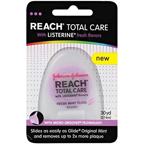 Reach Total Care floss with Listerine Fresh Flavors, 30 Yard by Reach