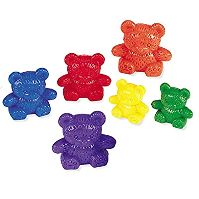 Learning Resources Three Bear Family Counter Set - 6 Colours by Learning Resources