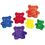 Learning Resources - LER0744 - Kit d'Ours à Compter Three Bear Family - 6Couleurs