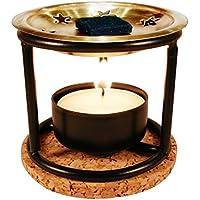 Aroma-Diffusor mit Kupferplatte, Räucherwerk, Teelicht und Untersetzer preisvergleich bei billige-tabletten.eu