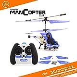 ACME - zoopa manCopter 2024 Polizei Helikopter | Spaß für Groß und Klein (AA0140)