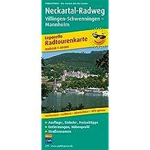 Neckartal-Radweg, Villingen-Schwenningen - Mannheim: Leporello Radtourenkarte mit Ausflugszielen, Einkehr- & Freizeittipps, wetterfest, reissfest, ... 1:50000 (Leporello Radtourenkarte / LEP-RK)