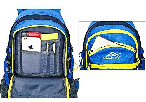 40L zaino esterno maschile borsa da viaggio femminile zainetto per passeggiate ed escursioni sacchetto di sport , 1 5
