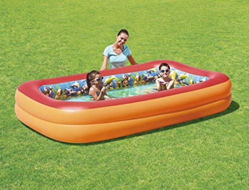 "Bestway Planschbecken ""Splash &Play"" 3D Adventure Family Pool, 262x175x51 cm"