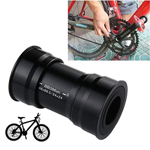 NSK E-Bike oder MTB-Tretlager ersetzen LLP BB386 EVO Press Fit Style Innenlager für 86mm für Shimano, Prowheel, SRAM GXP Mountainbike (Schwarz) (Farbe : Black)